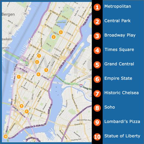 NYCTourMap