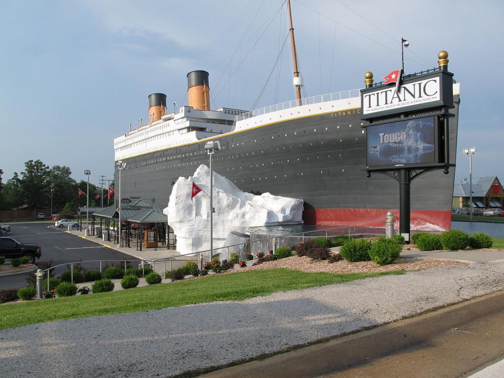 The Titanic Museum in Branson Missouri